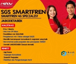 Lowongan Kerja SPG-SPB Smartfren