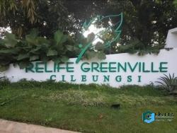 Rumah Dijual BU Relife Greenville Cileungsi Cluster Flower Ville