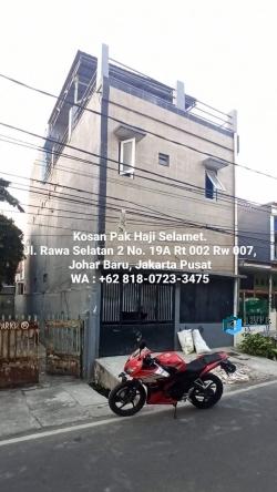 Kos 800rb Johar Baru Jakarta Pusat